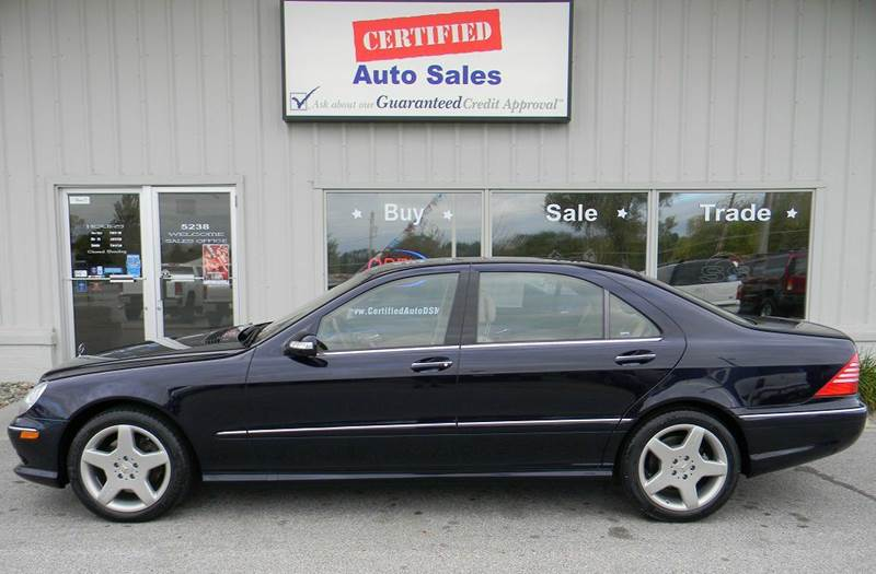 2004 mercedes benz s class awd s500 4matic 4dr sedan in for Mercedes benz des moines iowa