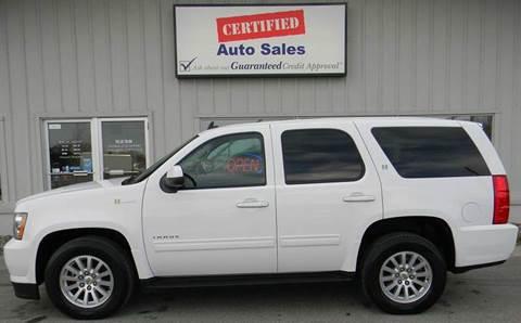 2011 Chevrolet Tahoe Hybrid