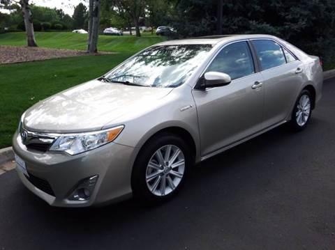 2014 Toyota Camry Hybrid for sale in Centennial CO