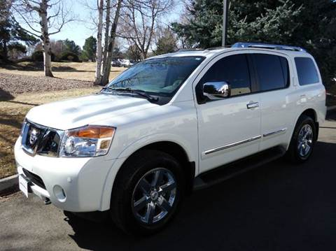 2014 Nissan Armada for sale in Centennial CO