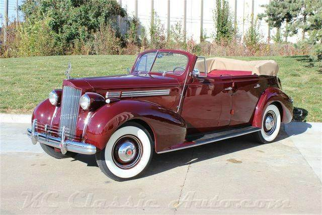 1938 Packard 1601 Convertible Sedan for sale in LENEXA KS