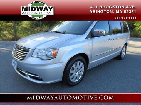 2012 Chrysler Town and Country for sale in Abington, MA
