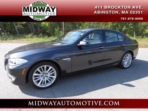 2012 BMW 5 Series for sale in Abington, MA