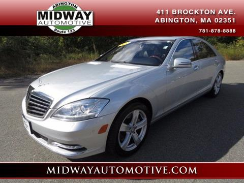 2011 Mercedes-Benz S-Class for sale in Abington, MA
