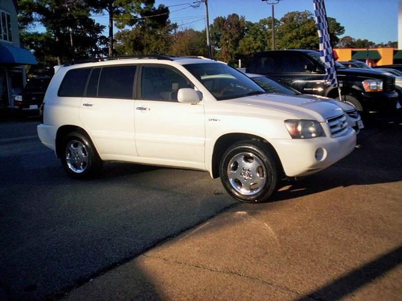 2006 Toyota Highlander AWD Sport 4dr SUV - Portsmouth VA