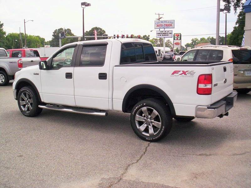 2008 Ford F-150 4x4 FX4 4dr SuperCrew Styleside 5.5 ft. SB - Portsmouth VA