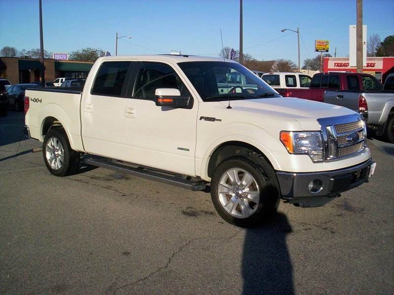 2012 Ford F-150 4x4 Lariat 4dr SuperCrew Styleside 5.5 ft. SB - Portsmouth VA