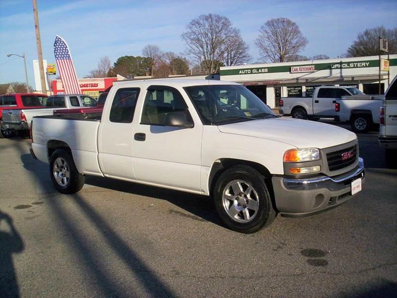 2005 GMC Sierra 1500 4dr Extended Cab Rwd SB - Portsmouth VA