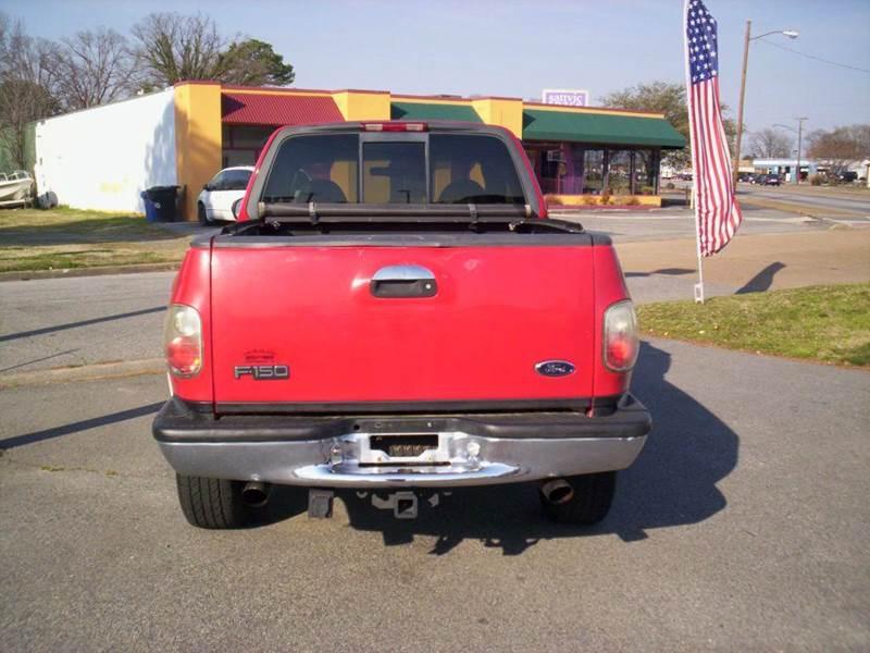 2000 Ford F-150 4dr Lariat 4WD Extended Cab Stepside SB - Portsmouth VA