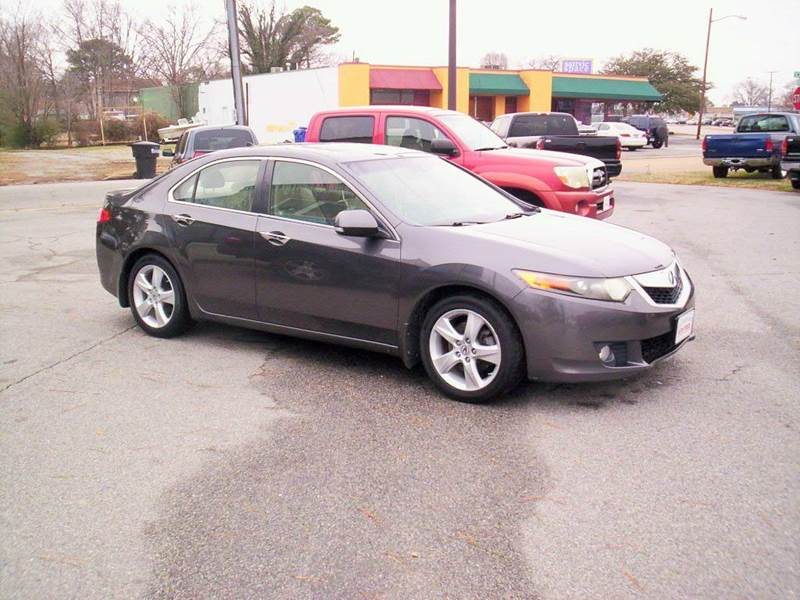2010 Acura TSX 4dr Sedan 5A w/Technology Package - Portsmouth VA