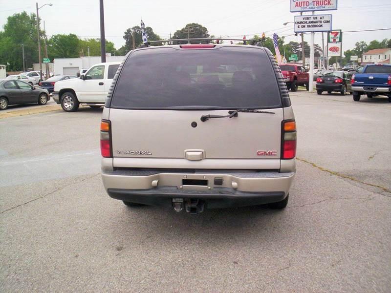 2005 GMC Yukon XL AWD Denali 4dr SUV - Portsmouth VA
