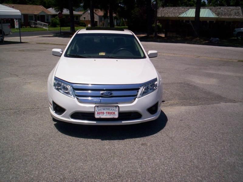 2010 Ford Fusion SEL 4dr Sedan - Portsmouth VA