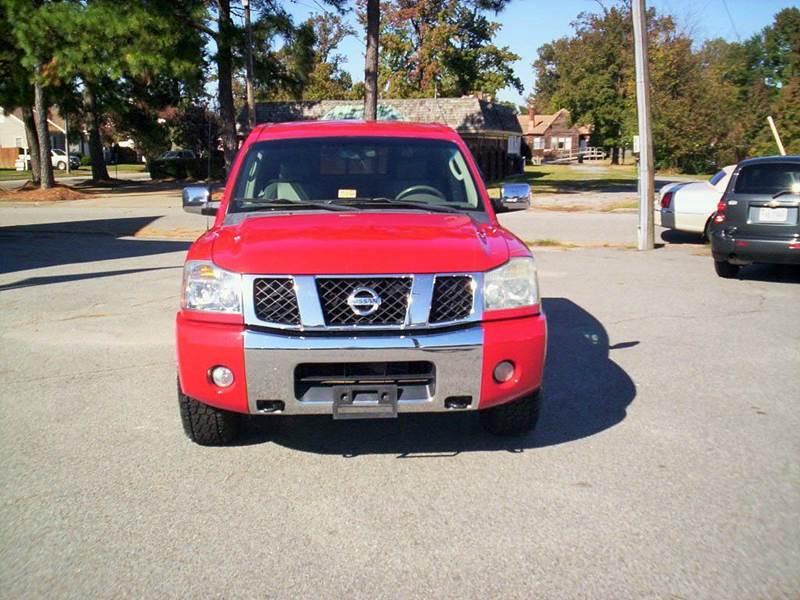 2005 Nissan Titan 4dr Crew Cab LE 4WD SB - Portsmouth VA