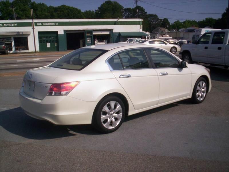 2009 Honda Accord EX-L V6 4dr Sedan 5A - Portsmouth VA