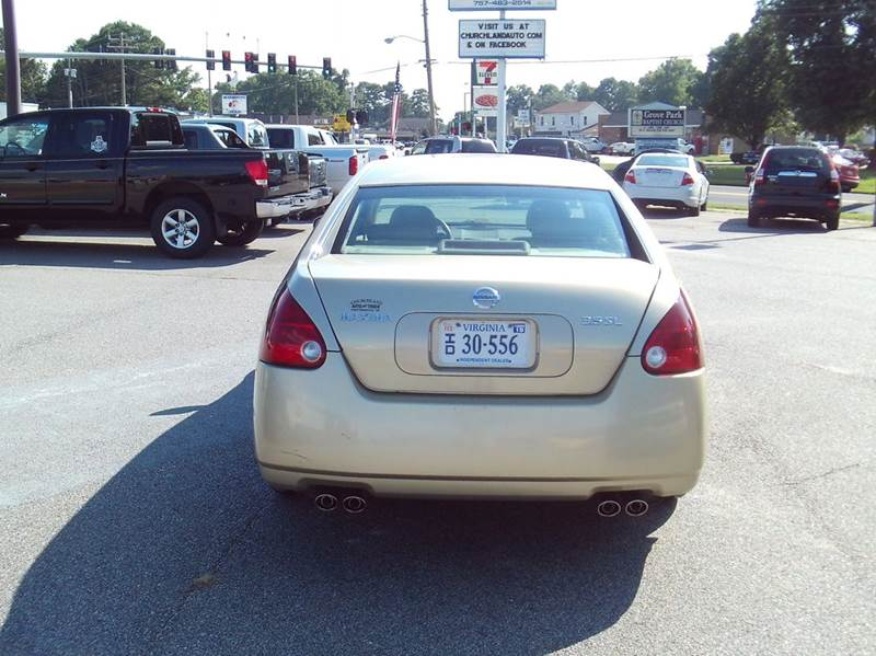 2004 Nissan Maxima 3.5 SL 4dr Sedan - Portsmouth VA