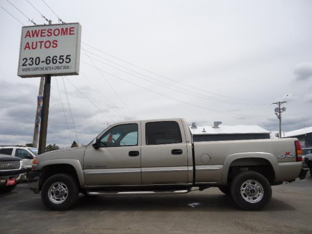 2001 GMC Sierra 2500HD