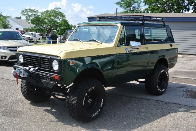 Used international scout ii for sale for T and d motors bethany ok