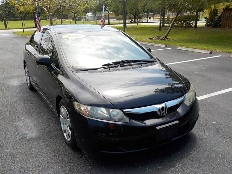 2010 Honda Civic LX 4dr Sedan 5A   Hollywood FL
