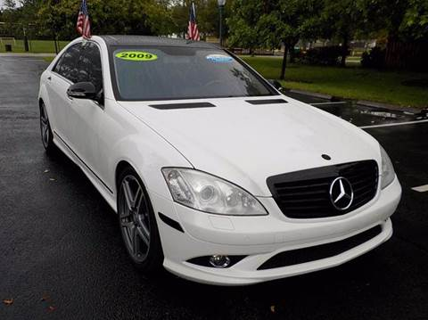 2009 Mercedes-Benz S-Class for sale in Hollywood, FL