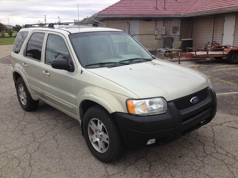 2003 ford escape limited 4wd 4dr suv in lebanon in for Affordable motors lebanon in