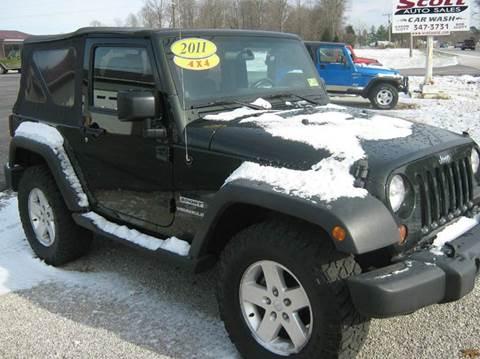 2011 Jeep Wrangler for sale in Ramsey, IN