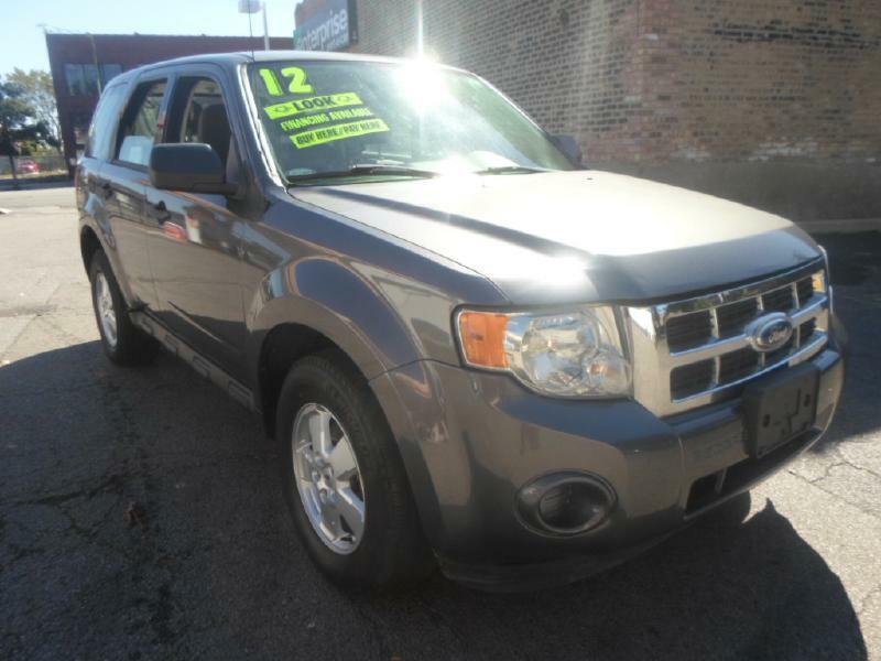 used 2012 ford escape for sale in illinois. Black Bedroom Furniture Sets. Home Design Ideas