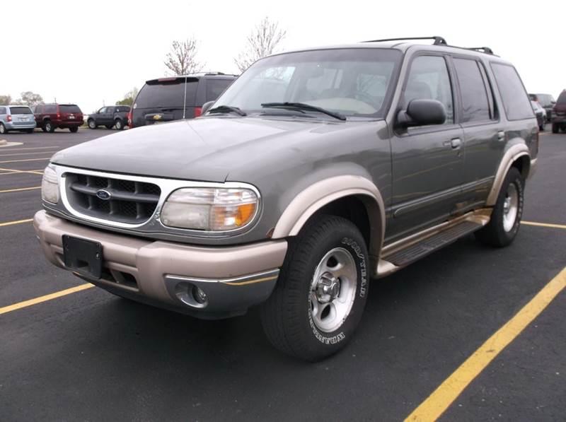2000 Ford Explorer 4dr Eddie Bauer 4WD SUV - Waukesha WI