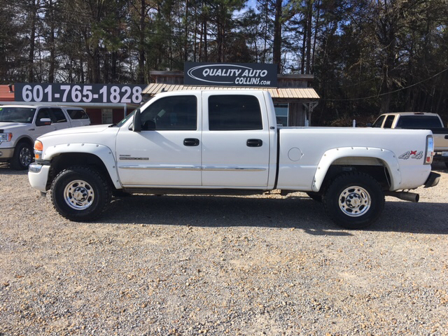 2006 gmc sierra 2500hd slt 4dr crew cab 4wd sb in collins. Black Bedroom Furniture Sets. Home Design Ideas