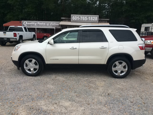2008 gmc acadia slt 2 4dr suv in collins ms quality auto of collins. Black Bedroom Furniture Sets. Home Design Ideas