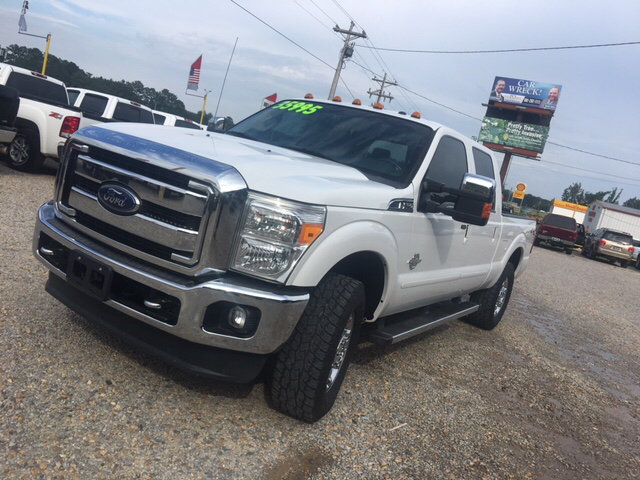 2013 Ford F-250 Super Duty 4x4 Lariat 4dr Crew Cab 6.8 ft. SB Pickup - Collins MS