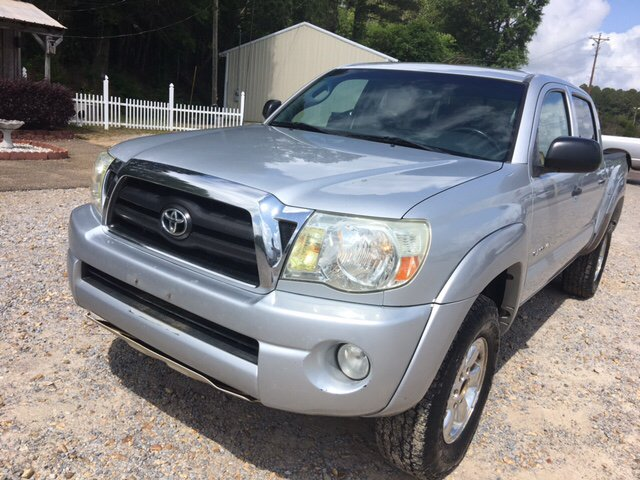 2007 Toyota Tacoma V6 4dr Double Cab 4WD 5.0 ft. SB (4L 5A) - Collins MS