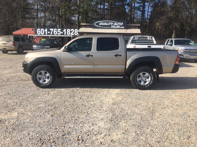 2008 toyota tacoma 4x2 prerunner v6 4dr double cab 5 0 ft sb 5a in collins ms quality auto of. Black Bedroom Furniture Sets. Home Design Ideas
