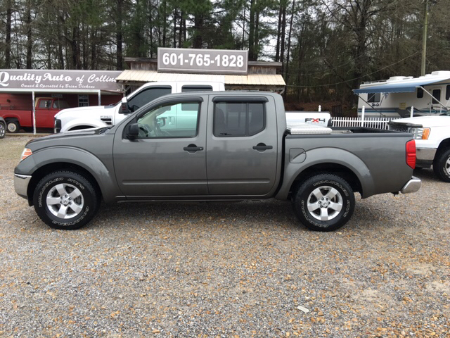2009 nissan frontier le 4x2 le crew cab short bed 4dr 5a in collins ms quality auto of collins. Black Bedroom Furniture Sets. Home Design Ideas