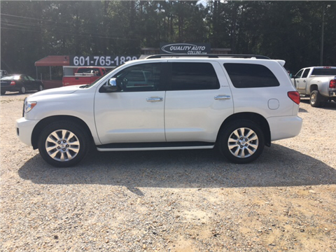 2013 Toyota Sequoia for sale in Collins, MS