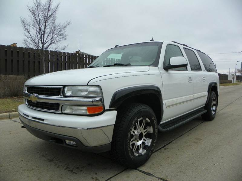 2005 chevrolet suburban 1500 lt 4wd 4dr suv in wheeling il vk auto imports. Black Bedroom Furniture Sets. Home Design Ideas