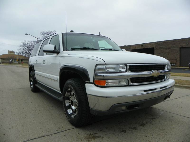 2005 chevrolet suburban 1500 lt 4wd 4dr suv in wheeling il. Black Bedroom Furniture Sets. Home Design Ideas