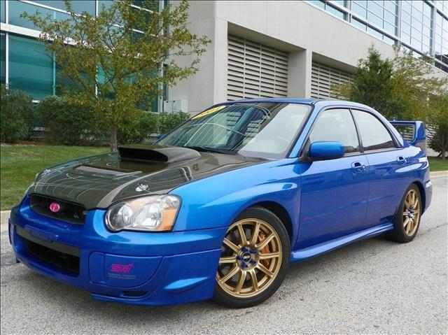 2004 subaru impreza wrx sti awd 4dr sedan in skokie