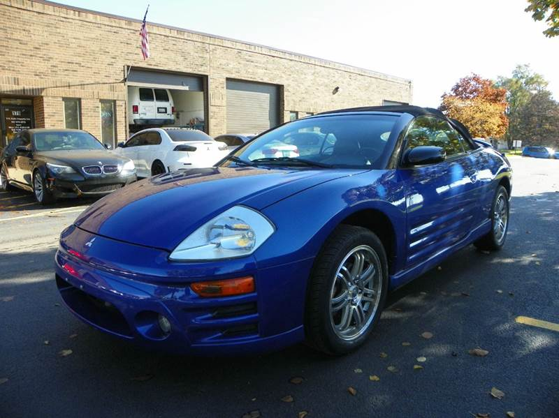 2005 mitsubishi eclipse spyder gts 2dr convertible in wheeling il vk auto imports. Black Bedroom Furniture Sets. Home Design Ideas