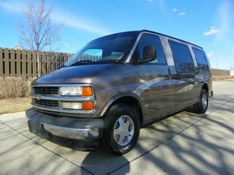 2002 Chevrolet Express Passenger