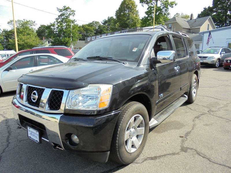 2005 Nissan Armada SE Off-Road 4WD 4dr SUV - Brockton MA