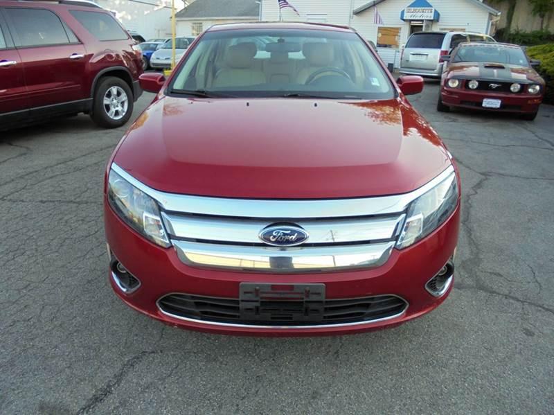 2011 Ford Fusion SEL 4dr Sedan - Brockton MA