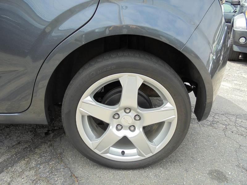 2012 Chevrolet Sonic LTZ 4dr Hatchback w/2LZ - Brockton MA