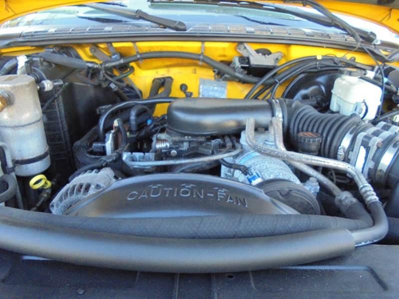2003 Chevrolet S-10 3dr Extended Cab LS ZR2 4WD SB - Brockton MA