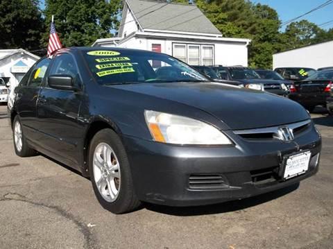 2006 Honda Accord For Sale Massachusetts