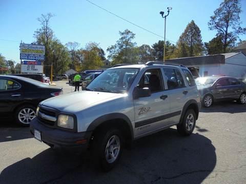 2003 Chevrolet Tracker for sale in Brockton, MA