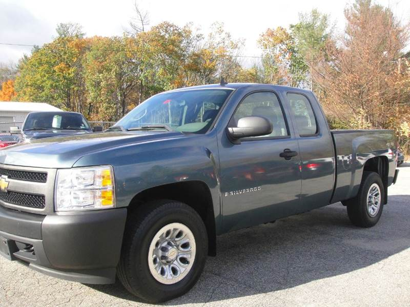 2008 chevrolet silverado 1500 4wd work truck 4dr extended cab 6 5 ft sb in goffstown nh. Black Bedroom Furniture Sets. Home Design Ideas