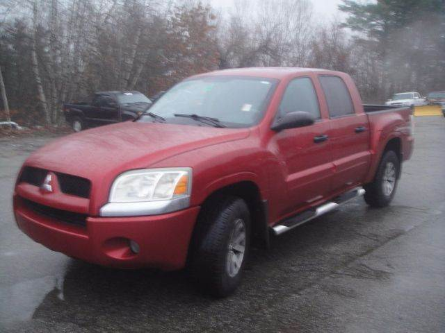 2007 Mitsubishi Raider Ls 4dr Double Cab 4wd Sb 4a In Goffstown Nh
