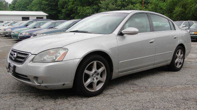2002 nissan altima 3 5 se 4dr sedan in goffstown boston. Black Bedroom Furniture Sets. Home Design Ideas