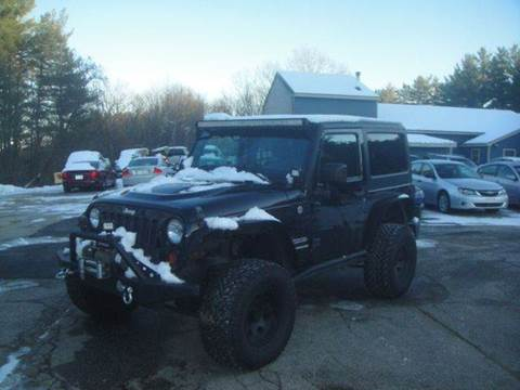 2012 Jeep Wrangler for sale in Goffstown, NH