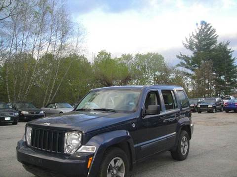 2008 Jeep Liberty for sale in Goffstown, NH